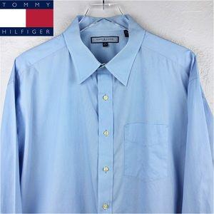 """Tommy Hilfiger Dress Shirt   2XL Button down 18"""""""